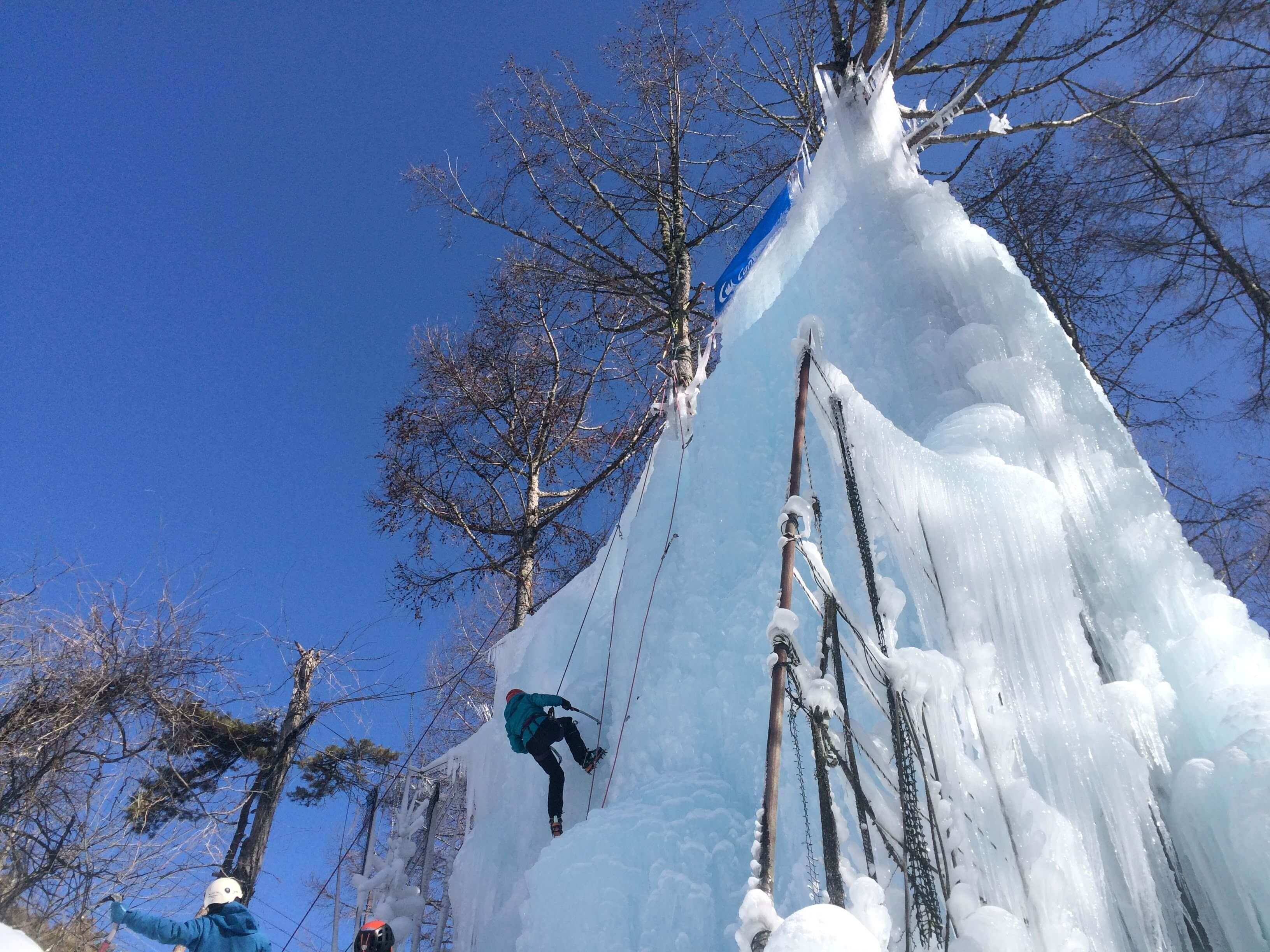 ICE CLIMBING CHALLENGE in 赤岳山荘〈イベントレポート〉